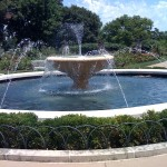 Rose Garden Fountain Loose Park